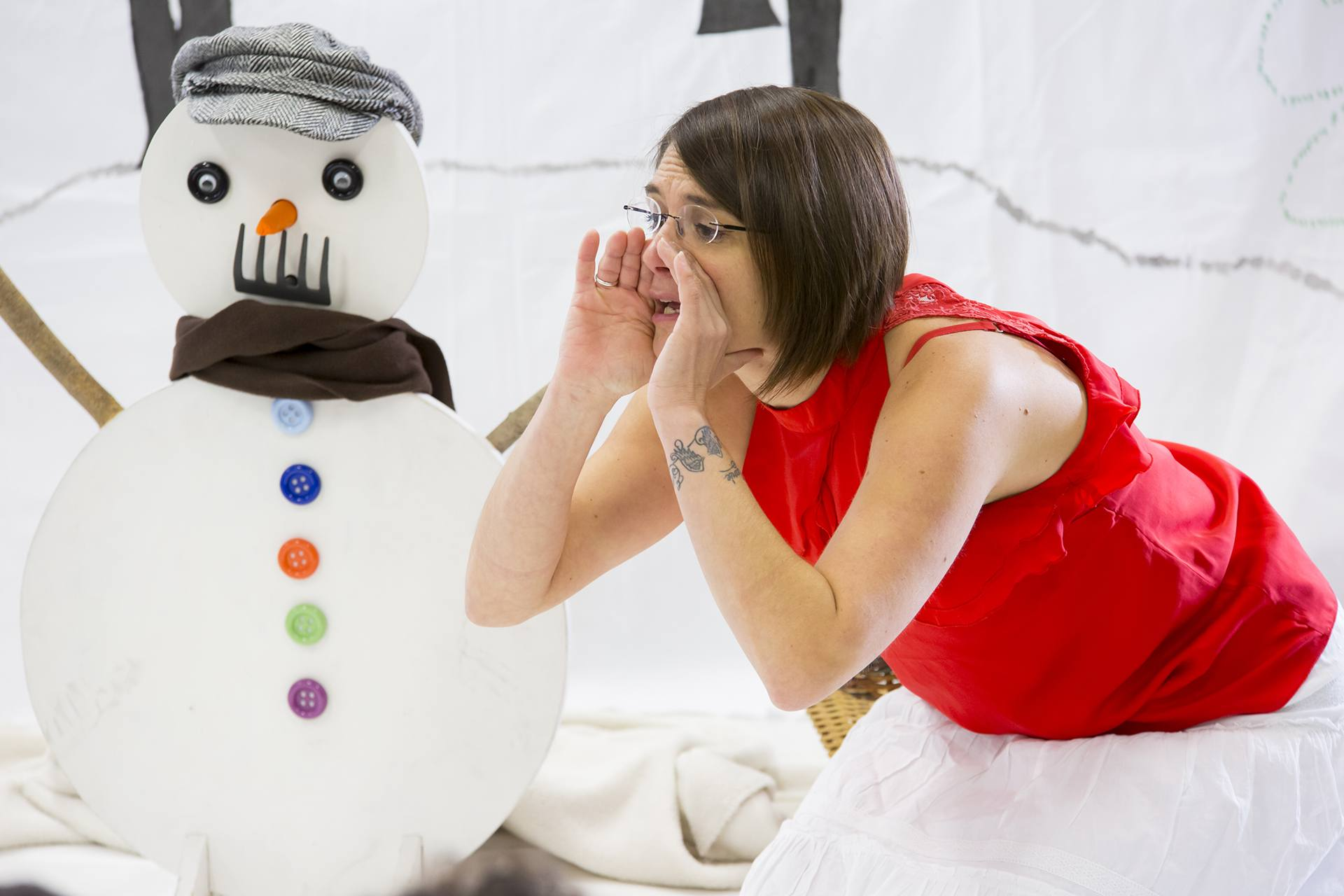 Ninie et compagnie Lectures Petit bonhomme de neige