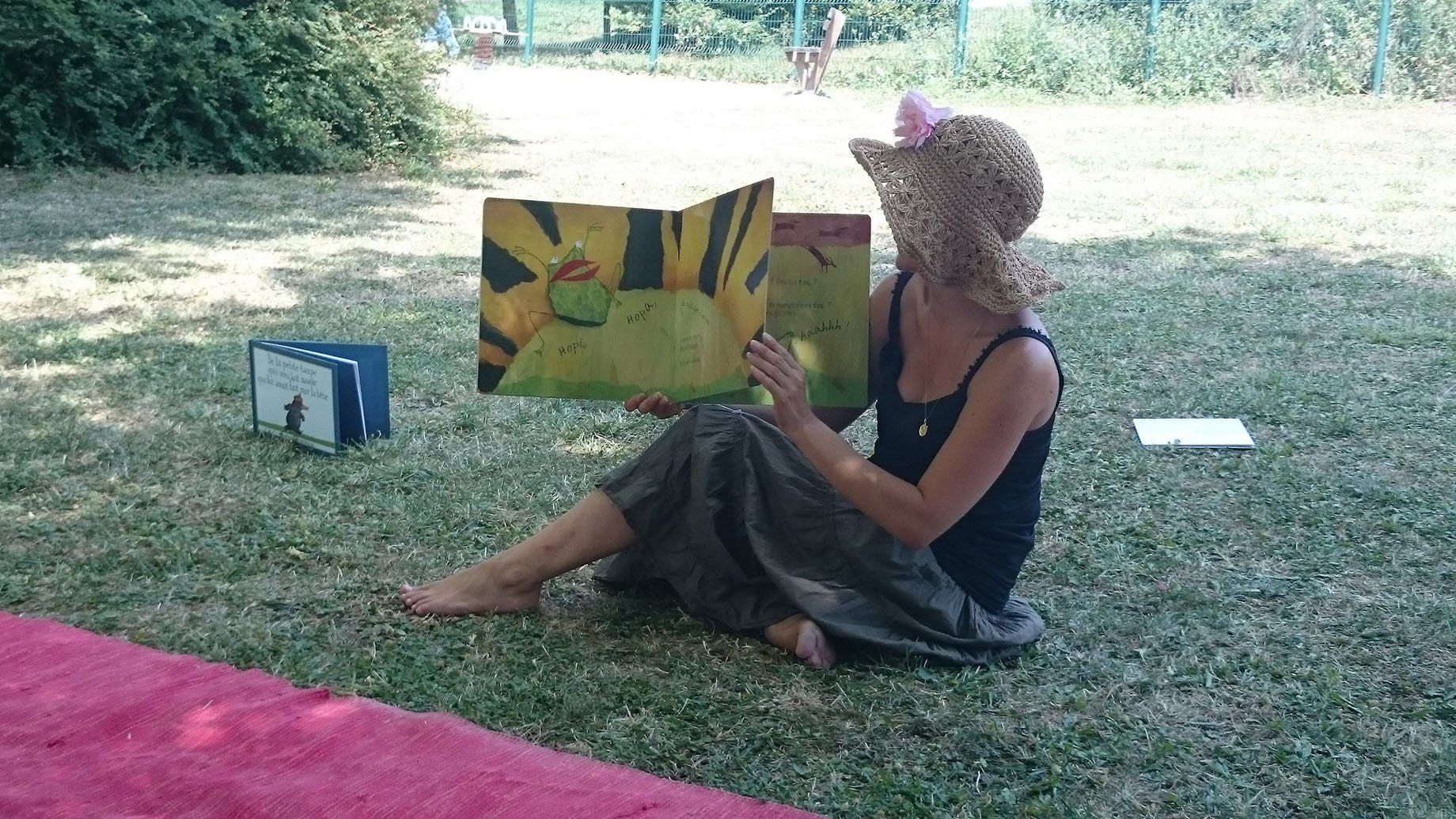 Ninie et compagnie lectures - spectacles