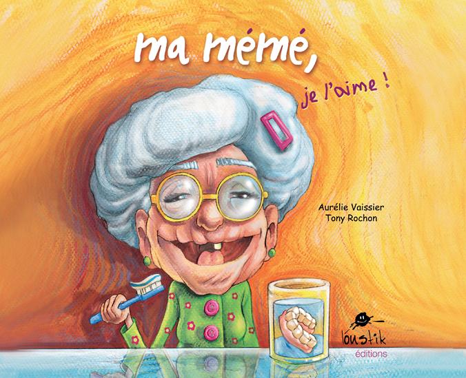 Ninie et compagnie Lectures dessinées - illustration Ma mémé