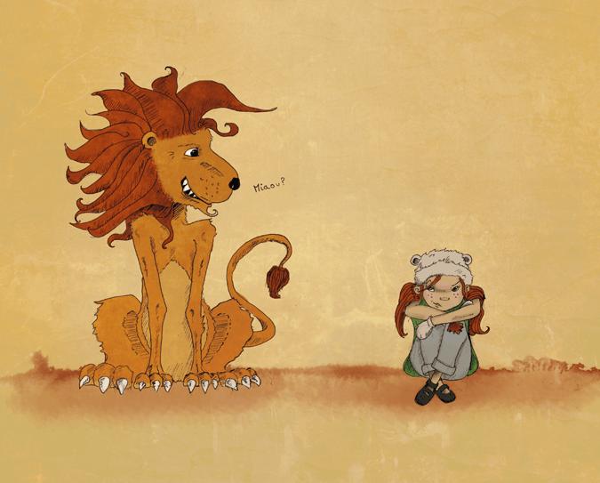 """illustration """"le garçon et l'oiseau"""" Ninie et compagnie"""