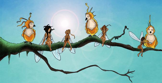 illustration Ninie et compagnie