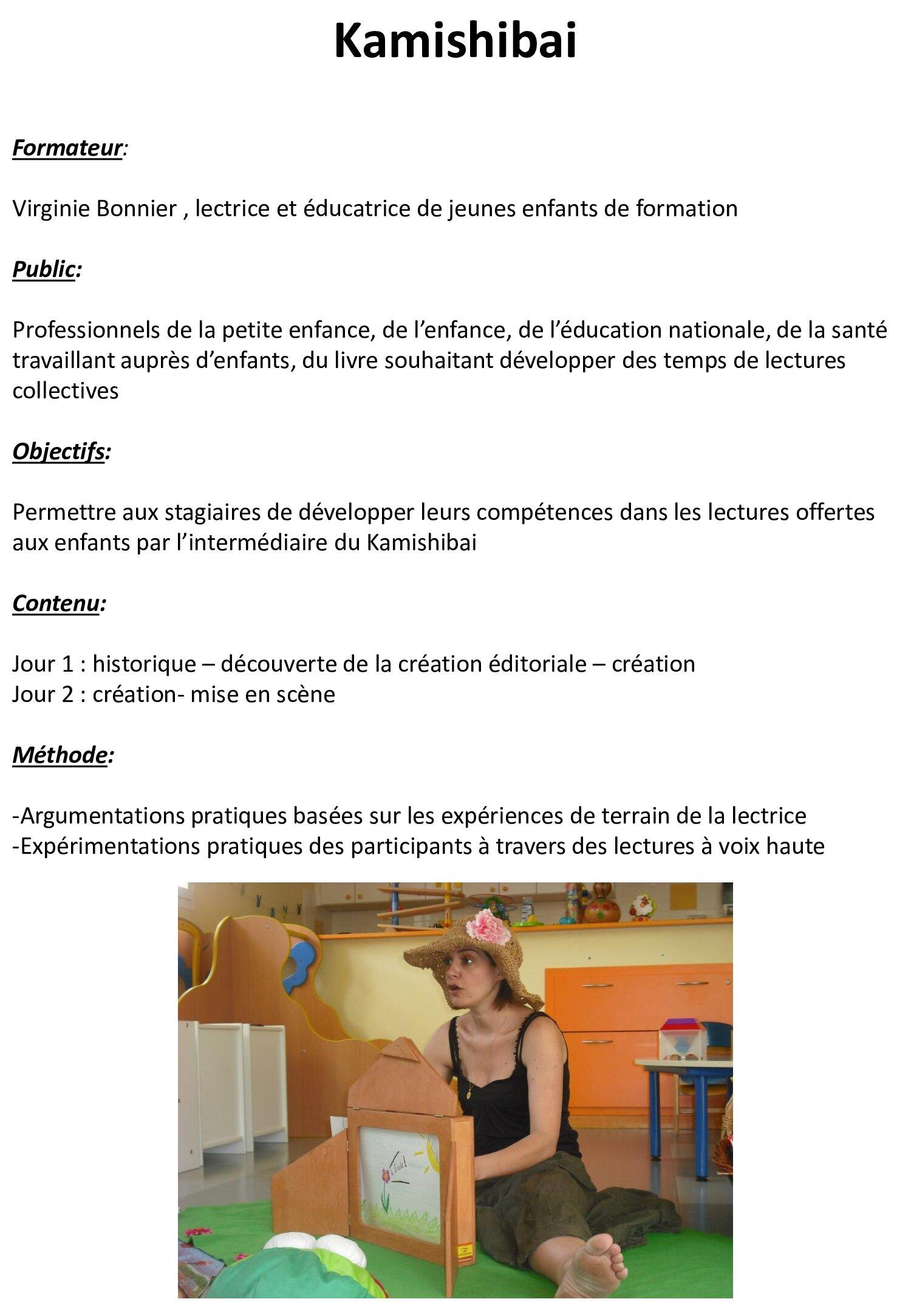 Ninie et Compagnie - Formations - La littérature pour les 0 à 6 ans