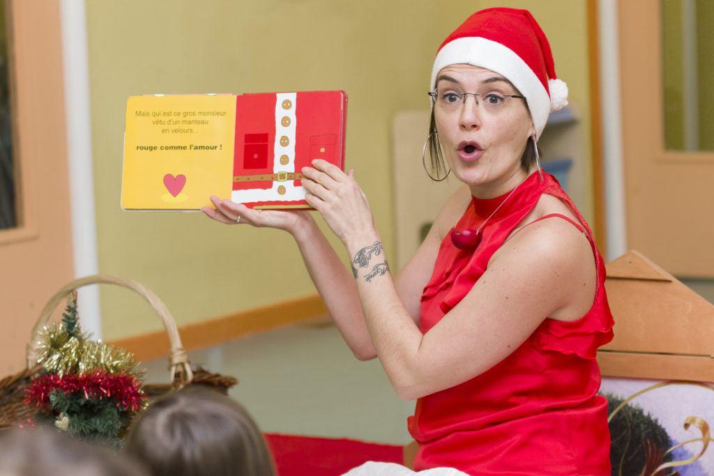 Ninie et compagnie lecture spectacle de Noël